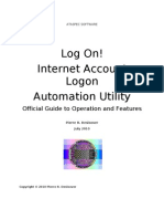 Log On! - Internet Account Logon Automation Utility (v1.00)