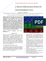 Design of Image Based Authentication System for Android Smartphone Users