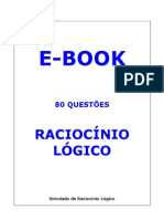 Raciocinio Logico 80 Questoes