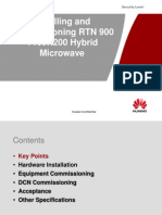 01-Installation and Commissioning the RTN 900 V1R2 Hybrid Microwave-20091220-A