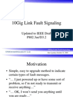 10GbE Fault Signaling