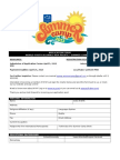 Summer Camp 2013_Application Form