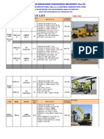 RHINOCEROS Excavator Price List (1)