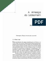A ameaça do lobisomem - Silviano Santiago