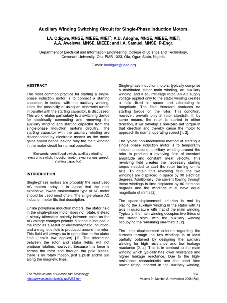 Enchanting Single Phase Motor Winding Crest - Wiring Diagram Ideas ...