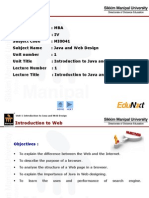 JWD_Unit 1_Introduction to Java and Web Designing_PPT