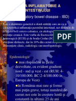 Boala Inflamatorie a Intestinului