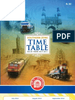 Scr Train Timetable 2012
