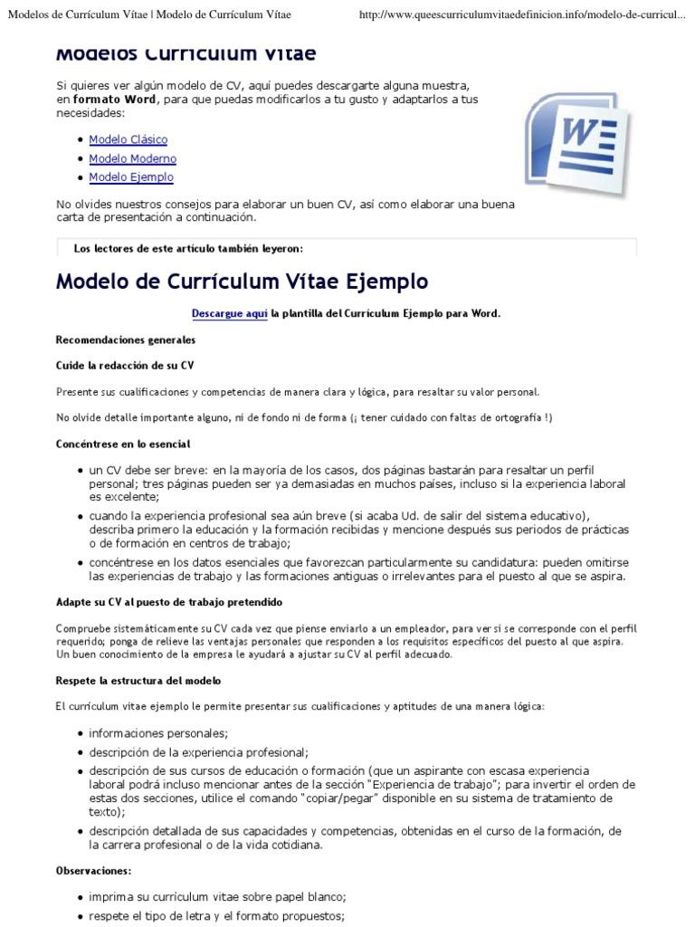 Moderno Buen Currículum Para Psw Galería - Colección De Plantillas ...
