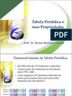 Tabela Periódica e Propriedades