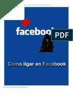 Guia Ligar Facebook