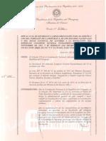 DISEÑO Y USO DEL PABELLÓN DE LA REPÚBLICA - DECRETO No 11400 - PARAGUAY - PORTALGUARANI