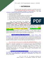 05 - Autarquia, Autarquia Territorial, Autarquia de Regime Especial - Estudado 05.05.2011