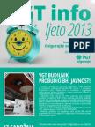 VGT Info - Ljeto 2013