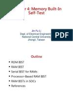 137017770 Memory BIST PDF