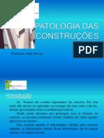PATOLOGIA DAS CONSTRUÇÕES