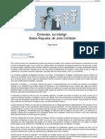 Olga Osorio Entender, no inteligir. Sobre rayuela - nº 21 E.pdf