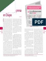 La mujeres y la prensa en Chiapas | Visiones