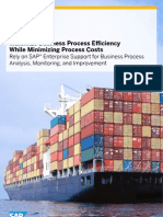 Maximize Business Process Efficiency While Minimizing Process Costs (A4)