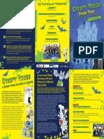 Creepy House Dance Tour Information Booklet