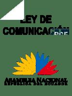 RO Ley Orgánica de Comunicación