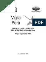 Gestion y Administracion Del GORE ICA