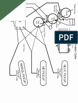 Peavey Predator Wiring DiagramScribd