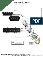 standard PJ Bass wiring diagram
