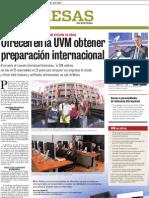 En UVM obtienes preparación Internacional