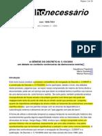 A_GÊNESE_DO_DECRETO_N._5.154-2004