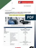 FOTON AUMARK BJ1133 Con Motor CUMMINS de 210 HP Con Capacidad de Carga Igual a 10 Toneladas