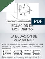 Ecuacion de Movimiento