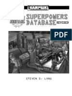 UNTIL Superpowers Database 1
