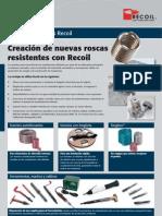Recoil Kits Folleto Industria