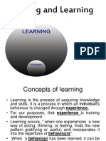 Training - Learning Theories & Transfer of Learning