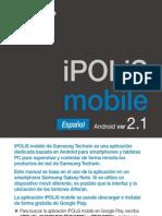 User Maunal iPOLiS Mobile-Android SPANISH