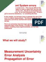 6 Measurement System Errors