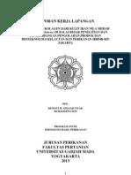 Ekstraksi Kolagen dari Kulit Nila Merah di BBP4BKP Jakarta