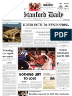 02/26/09 - The Stanford Daily [PDF]