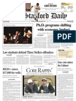05/20/09 - The Stanford Daily [PDF]