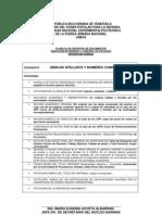 Modelo de Expediente Postgrado 2013