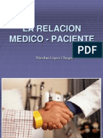 La Relacion Medico Paciente