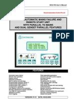 DKG 705 User Manual