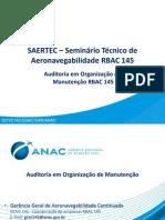 1550-SAERTEC RBAC 145 - Auditoria