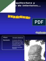 Divina Arquitectura Diapositivas