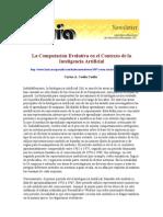 La Computación Evolutiva en el Contexto de la Inteligencia Artificial