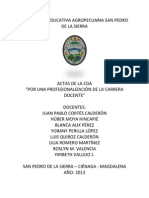 Actas 1 y 2 Cda San Pedro