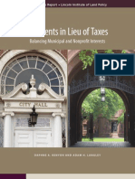 Payments in Lieu of Taxes