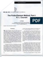 The Finite-element Method Part I R. L. Courant [Historical Corner]-G7B