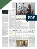 Entrevista y reseña en Tiempo Argentino p.2